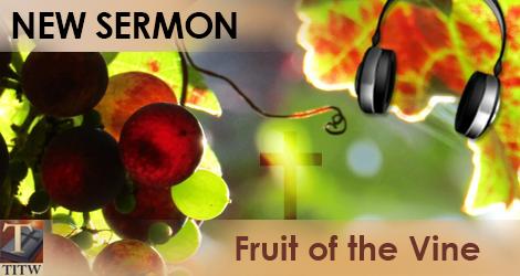 Sermon Fruit of the Vine
