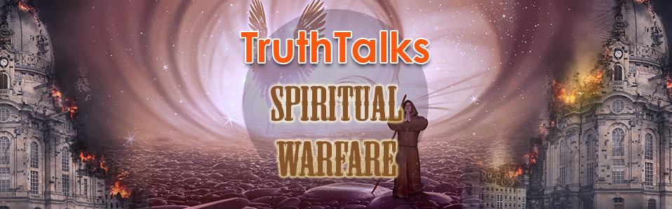 Top image for TruthTalk on Spiritual Warfare